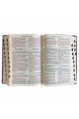 Український і російський паралельний переклад Біблії